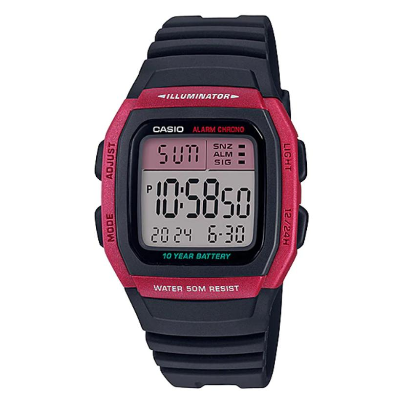 Casio Standard Digital W96H4A 1