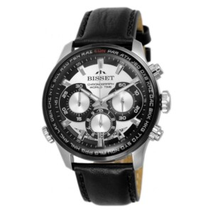 Bisset World Chronograph BSCE87SISB05AX
