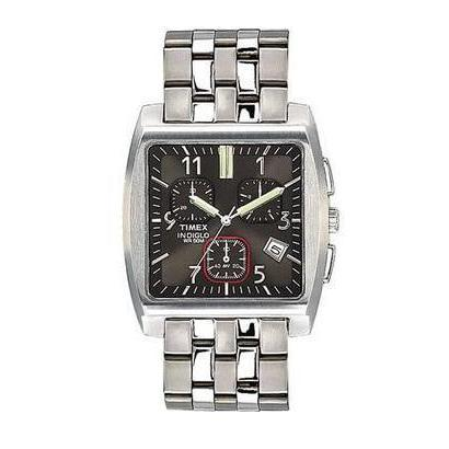 Timex Men's Chronograph with INDIGLO NightLight T22232 1