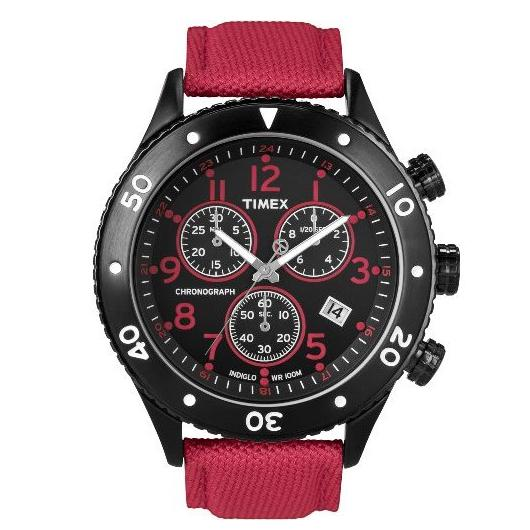 Timex Men's Chronograph with INDIGLO NightLight T2N087 1