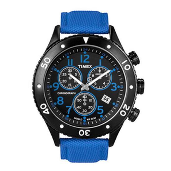 Timex Chronographs T2N086 1