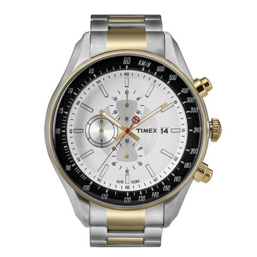 Timex Men's Chronograph with INDIGLO NightLight T2N155 1