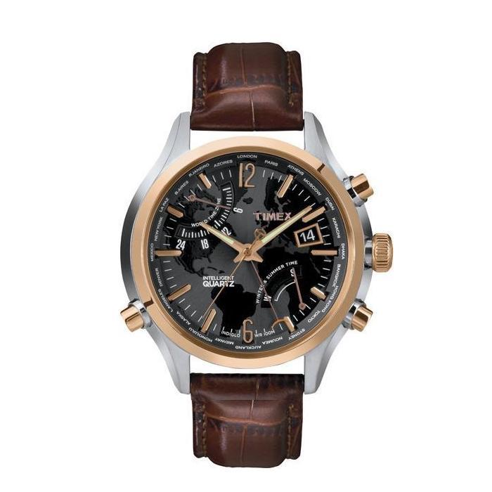 Timex IQ World Time T2N942 1