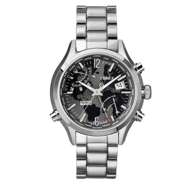 Timex IQ World Time T2N944 1