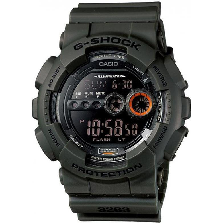 Casio Gshock Basic GD100MS3 1