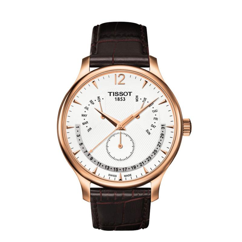 Tissot TRADITION GMT T0636373603700 1