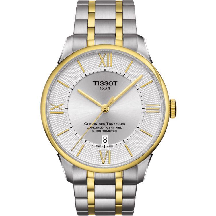Tissot CHEMIN DES TOURELLES POWERMATIC 80 T0994082203800 1