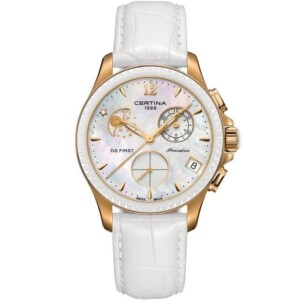 Certina DS First Lady Ceramic Chrono Moonphase C0302503610600