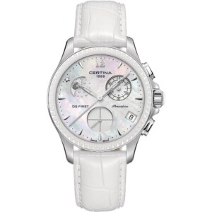 Certina DS First Lady Ceramic Chrono Moon Phase C0302501610600