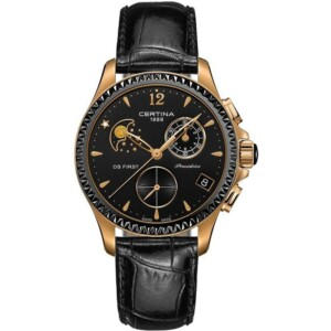 Certina DS First Lady Ceramic Chrono Moon Phase C0302503605600
