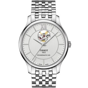 Tissot Tradition Automatic Open Heart T0639071103800