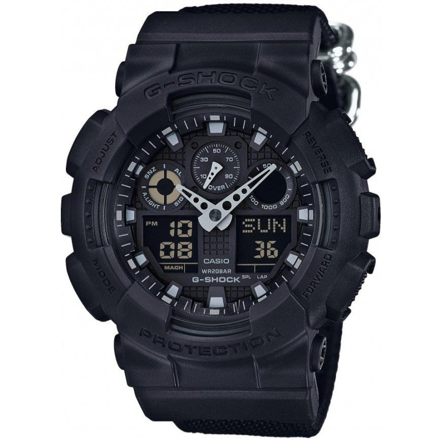 Casio G-Shock GA100BBN1A 1