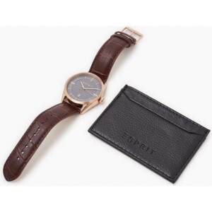Esprit Męskie BUSINESS BROWN ES109421003